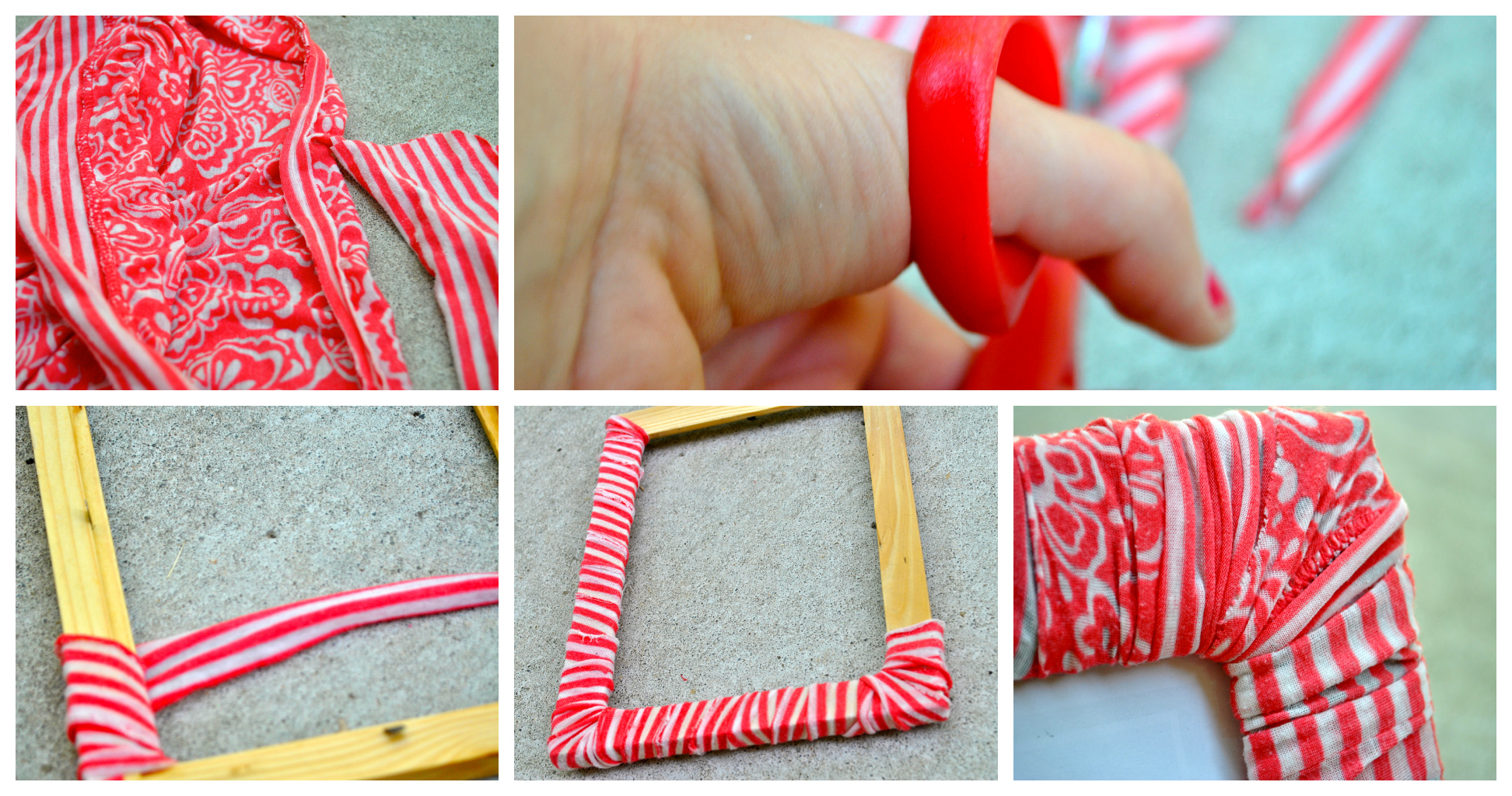 Picture Frames With Fabric Diy