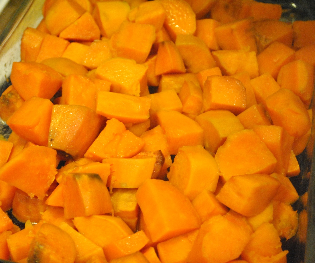 Simple Sweet Potatoes- all you need is a little bit of oil and an oven. The perfect healthy side to accompany any meal!