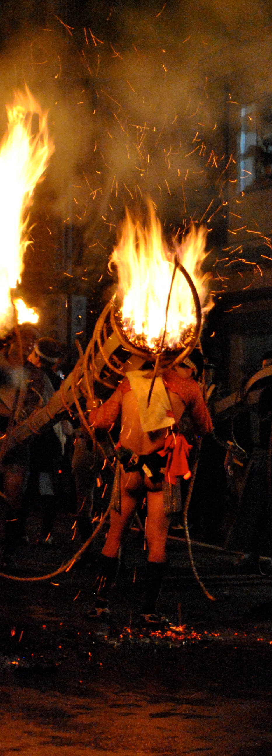 Kurama No Hi Matsuri- an annual fire festival that takes place on October 22 each year in Kyoto, Japan
